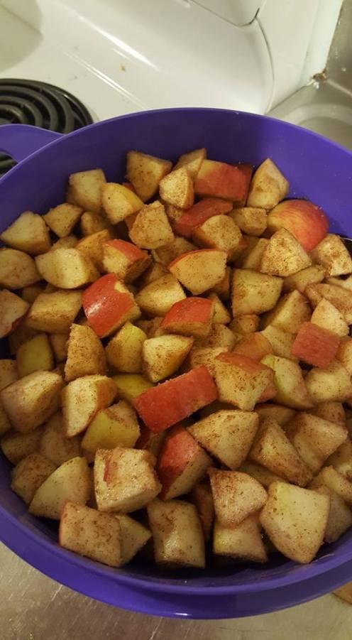 Apple Crisp mixed apples