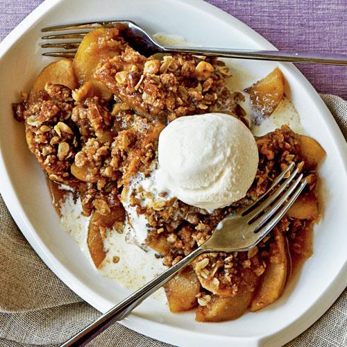 Apple Crisp with Walnuts