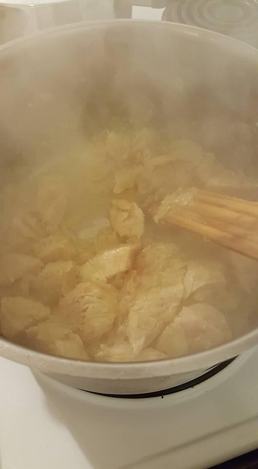 Chicken Alfredo chicken