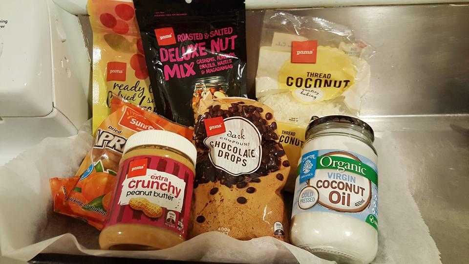 Choc Nut Bite ingredients