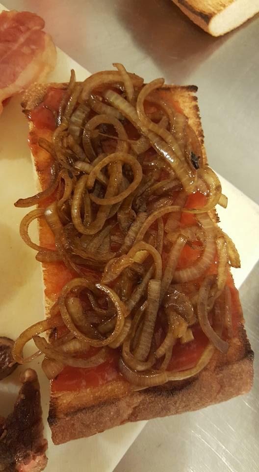 Steak Sandwich Onions