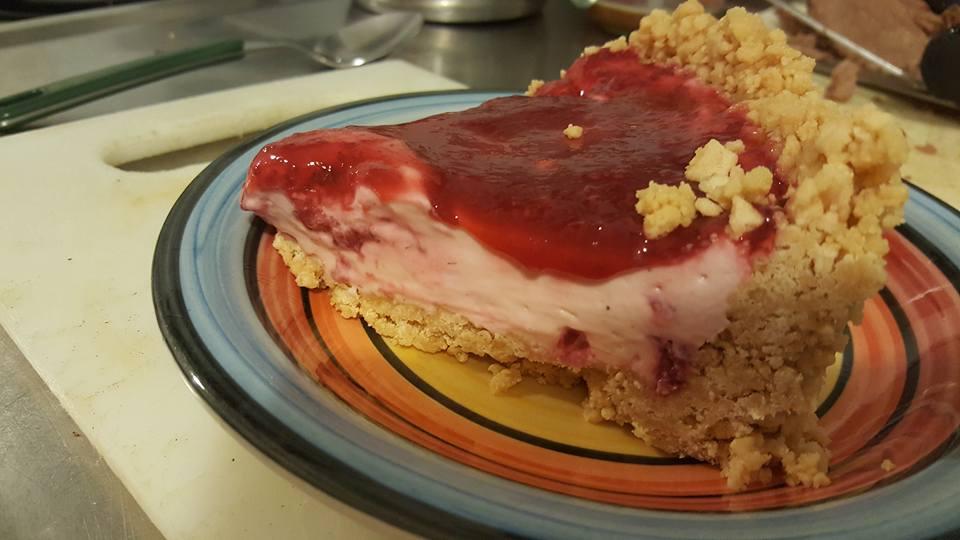 cheesecake-served
