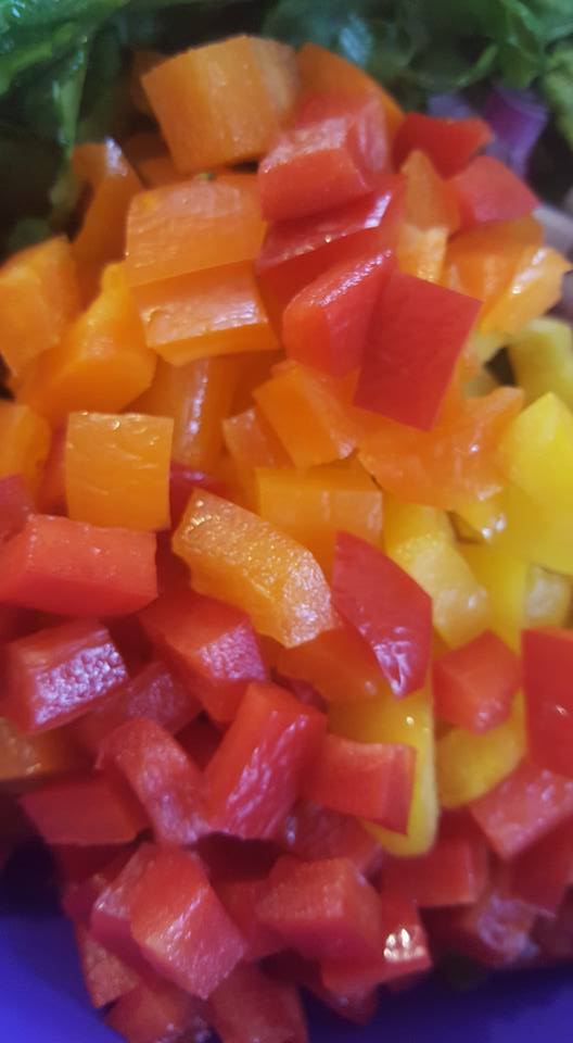 chopped-capsicum