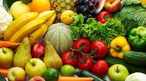 fruit and veges.